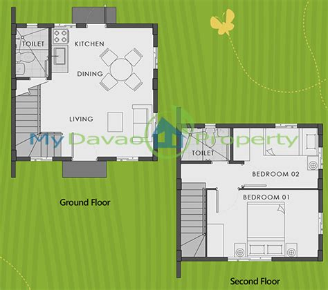 camella homes design with floor plan bella model house easy home series camella homes davao