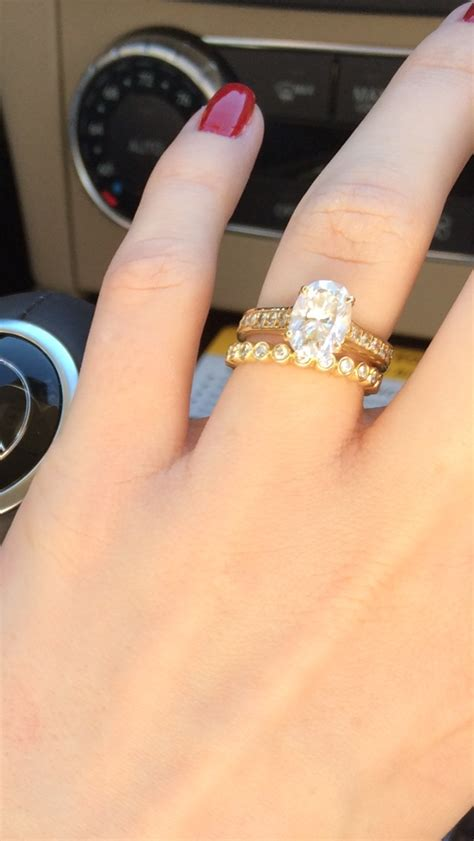 Prince Gets A 5 Carat by Show Me Your Oval Solitaire