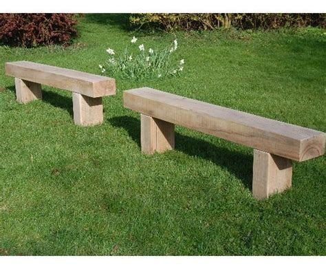 sleeper bench railway sleeper benches diynot forums