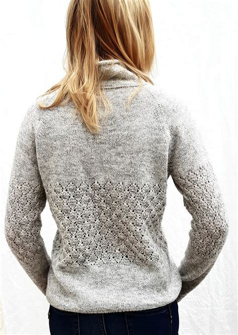 Sweater Leaf by Leaf Sweater Designer Sanne Fjalland