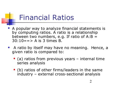 cross sectional ratio analysis cross sectional ratio analysis is used to finance nsu emb