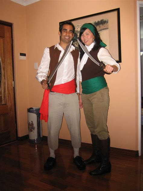 guybrush threepwood  elaine marley pirate costumes