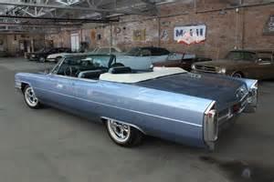 1965 Cadillac Convertible 1965 Cadillac De Ville Carnutts Info