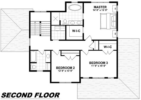 second floor plan second floor plans modern house plan with 2nd floor terace 21679dr 2nd floor master suite cad