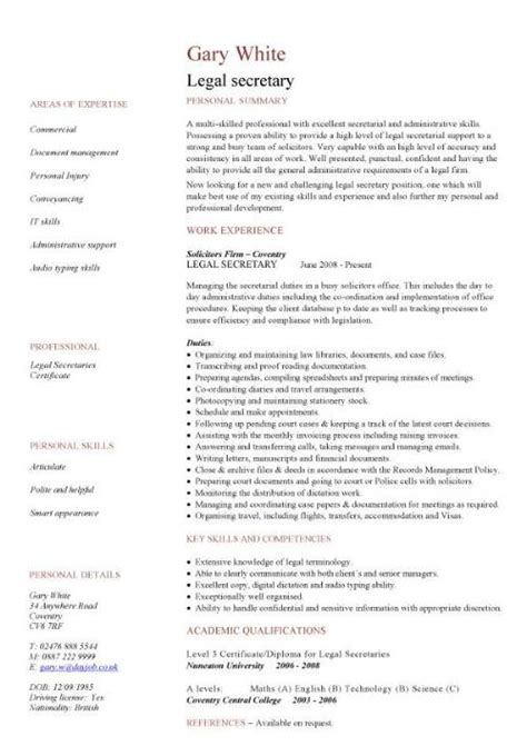 Sample Resume Pdf Student by Use These Legal Cv Templates To Write A Effective Resume