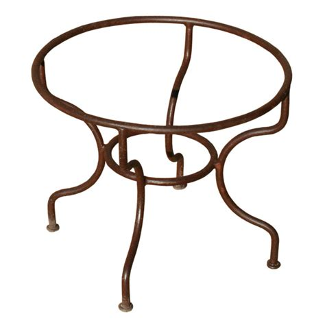 Pied De Table Basse Rond En Fer Forg 233 Simple Table Basse Bois Fer