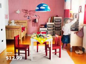 Toddler Bedroom Playroom Ideas Ikea Rooms Catalog Shows Vibrant And Ergonomic Design