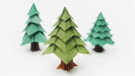 How To Make A 3d Paper Tree - origami tree jo nakashima