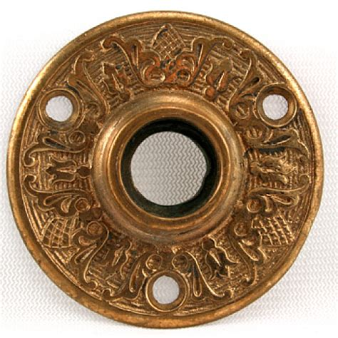 Door Knob Rosette by Ornate Brass Door Knob Rosette Mills