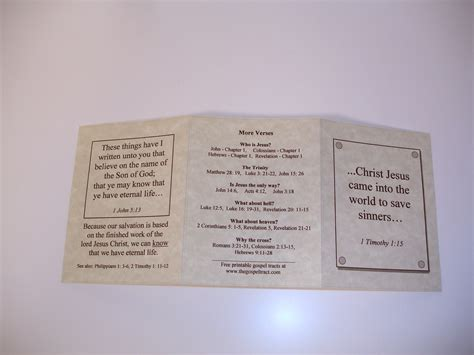 Free Printable Gospel Tracts For Children