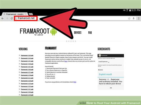 how to use framaroot apk how to root your android with framaroot 13 steps with pictures