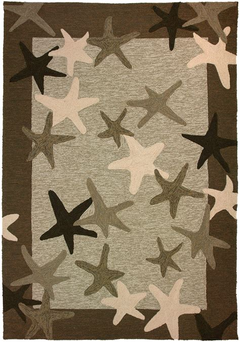 Starfish Outdoor Rug Starfish Field Rug