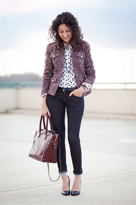 Od Jelly Flower Jaket Black tweed moderno moda e conte 250 do