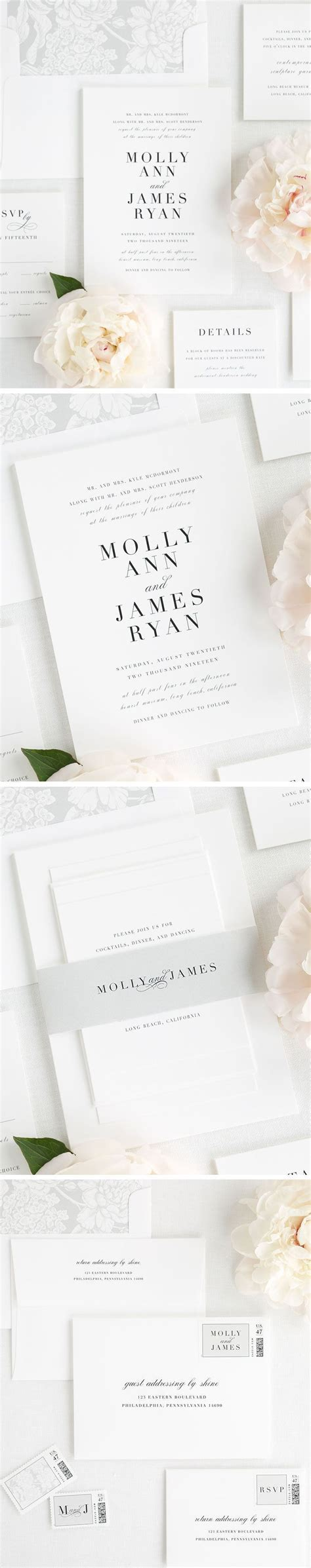 Best 25  Wedding invitation fonts ideas on Pinterest