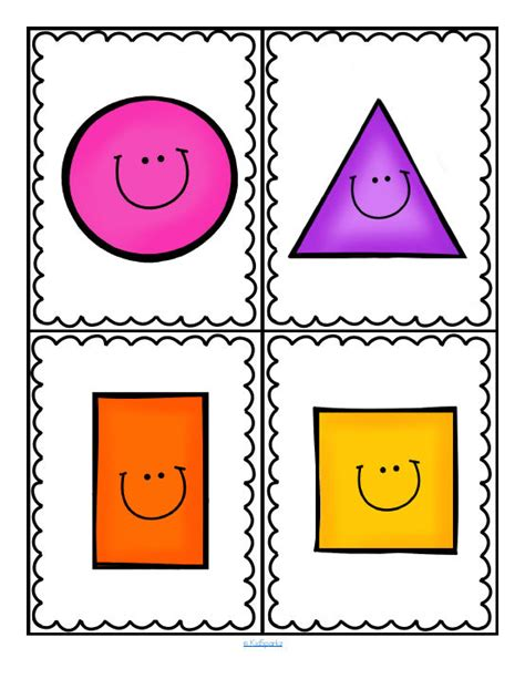 free preschool flashcards numbers and shapes teaching shapes printables for preschool preschool pinterest
