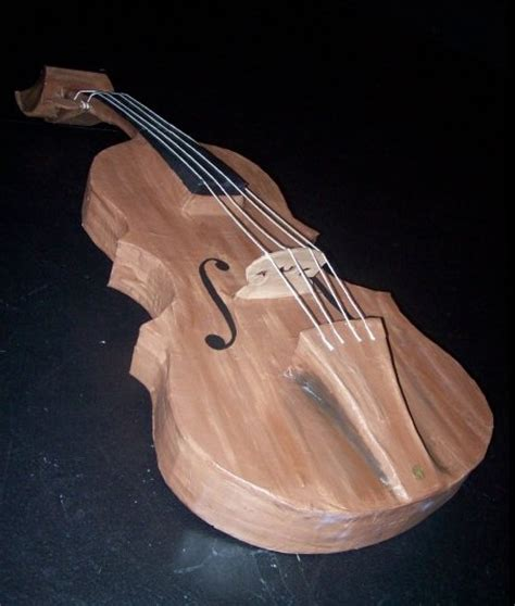 How To Make A Paper Violin - papier mache violin by farieltook on deviantart