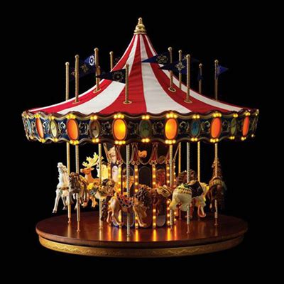 christmas decorations animated anniversary carousel by