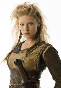 vikings hagatga hairdos katheryn winnick talks vikings battling in harsh weather