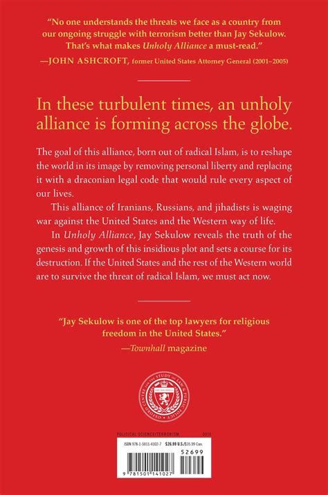 Unholy Alliance unholy alliance book by sekulow official publisher