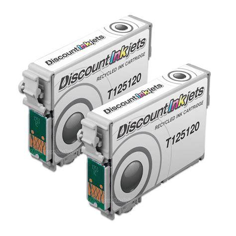 Printer Epson Nx130 2pk t125120 125 t125 black printer reman ink cartridge for
