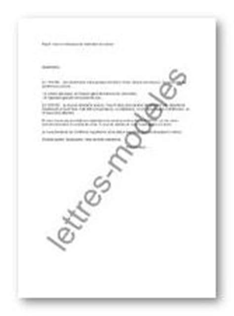 Modèle De Lettre De Mise En Demeure Restitution Caution Modele Mise En Demeure De Restituer Document