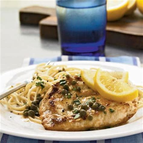 Chicken Piccata Cooking Light by Chicken Piccata With Capers Recipe