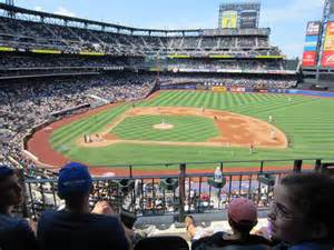 citi field section 312 row 3 seat 6 new york mets vs