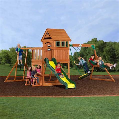 backyard swing set best wooden swing sets the backyard site