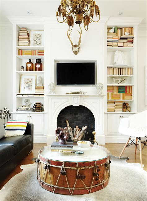 Living Room Antique And Modern How To Mix Modern Decor With Vintage Pieces Chatelaine