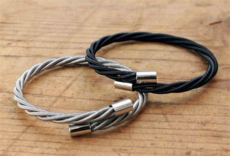 bass guitar string bracelets cool material