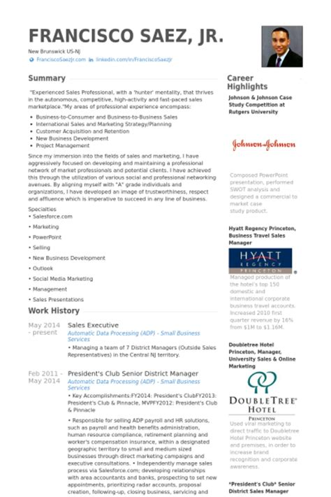 sles of executive resumes hospitality sales and marketing resume