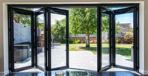 Window Blinds Clearance Visofold 1000 5 Door Aluminium Folding Sliding Door