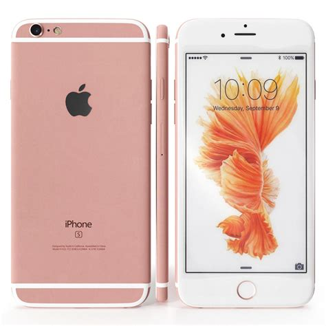 apple iphone 6s 16gb ros 233 gold wow top smartphone ohne