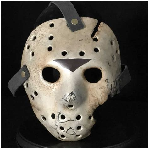 Mask 7 Day 1 auz jason hockey mask part 7 screen accurate replica