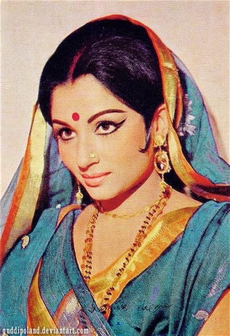 Sarmila Dress sharmila tagore by guddipoland on deviantart