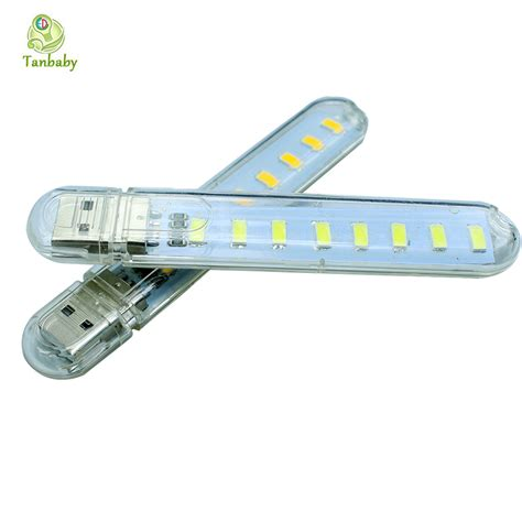 Tanbaby 8 Led 5730 Smd Usb Led Light L Mini Night Bulb 8 Led Light