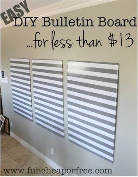 DIY Bulletin Board Ideas   landeelu.com