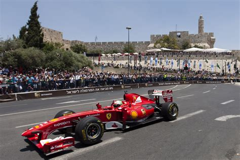 Rancing Car1 for israeli students jerusalem auto race was just a test drive telegraphic agency