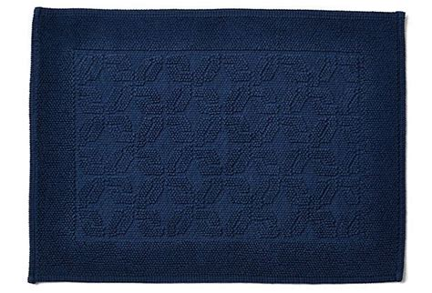 Navy Bath Rug Navy Bath Rug 40x60cm Navy Tufted Microfibre Shower Bath Mat Rug Non Slip Backing Bamboobliss