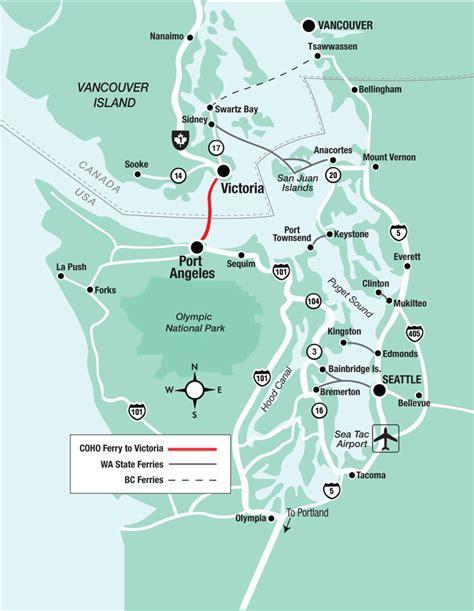washington state ferries map bc ferry viking travel inc alaskaferry alaska