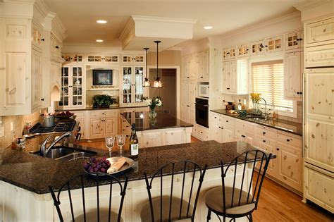 Painted Kitchens Designs by White Washed Knotty Pine Kitchen West Bend Wisconsin