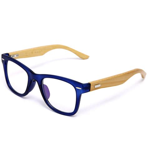 Handmade Spectacle Frames - japan handmade bamboo glasses frame clear lens for