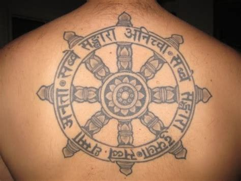disasters buddhist tattoos
