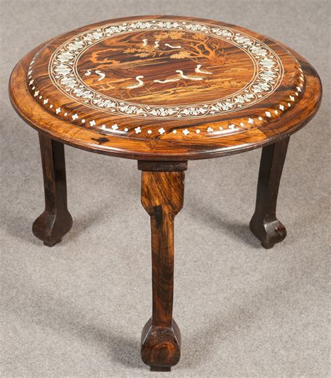 indian asian inlaid occasional table antiques atlas