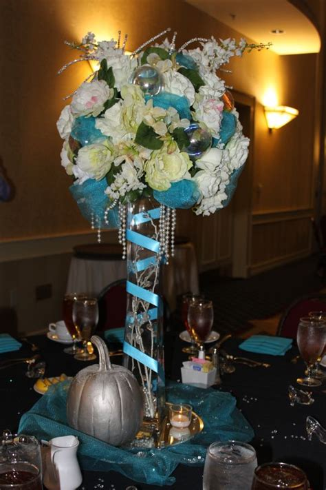 once upon a time event fairytales cinderella centerpiece