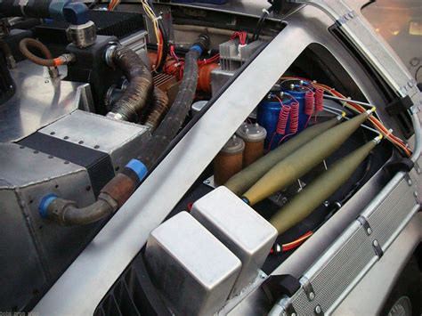 delorean flux capacitor kit for 30 000 you can turn your delorean into a time machine from back to the future