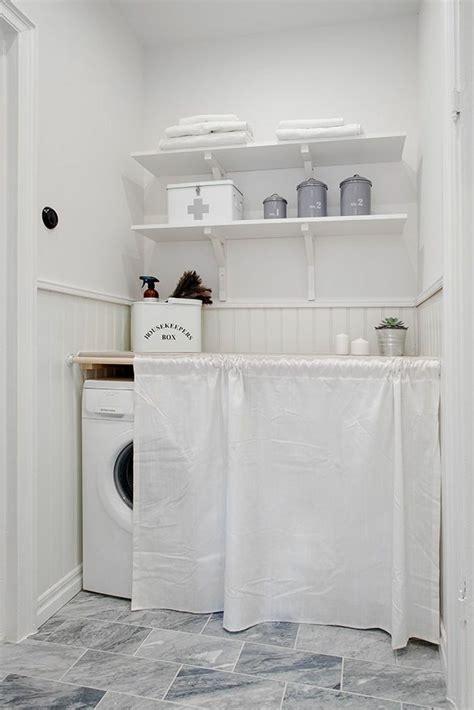 Rideau De Machine à Laver cache machine 224 laver et s 232 che linge 24 id 233 es astucieuses