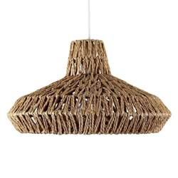 Woven Ceiling by Modern Woven Rope Design Ceiling Pendant Light