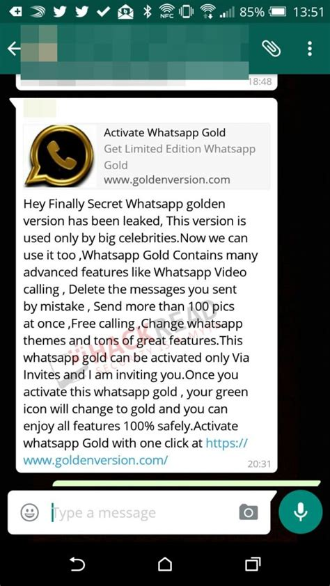 whatsapp wallpaper malware cyber criminals targeting users with whatsapp gold version