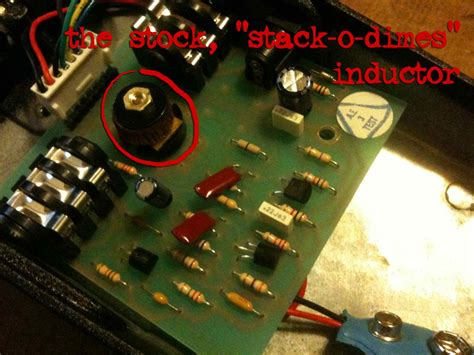 inductor wah circuit sewer b 230 by part 2 gcb 95 crybaby mods doktor ross sewage